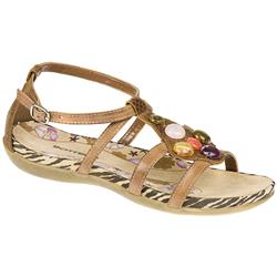 Shona Leather/Other Upper Textile Lining Sandals in Tan
