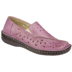 Cilla Leather Casual Shoes in Lilac