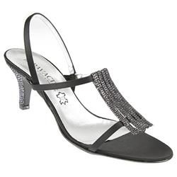 ZOD1051 Leather/Textile Upper Leather/Textile Lining Sandals in Black