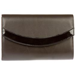 Heather Clutch Bag in Brown