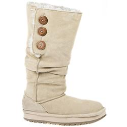 Keepsake - Brrr Leather Upper Textile Lining Boots in Sand
