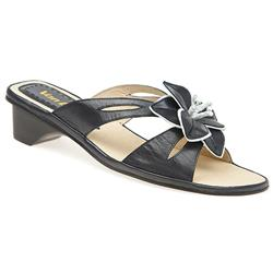 Female HSVD1305 Leather Upper Leather Lining All Sandals in Black Patent, Navy, White