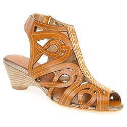 HSVIT1351 Leather Upper Sandals in Tan
