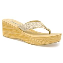 SKE1314 Textile Upper Sandals in Natural