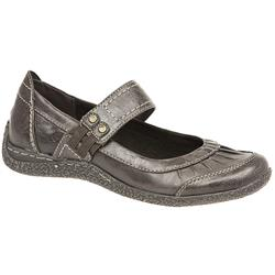 WEN24602-27 Leather/Textile Casual Shoes in Brown