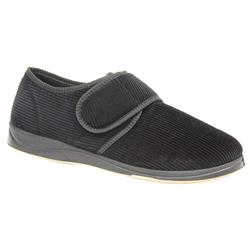 PADSLIP606 Textile Mens Best Sellers in Black Cord, Charcoal, Navy Cord