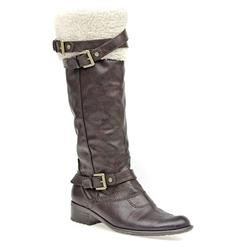 AW1404 Textile Lining Boots in Brown