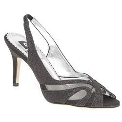 PCSLIP1200 Textile Upper Sandals in Black