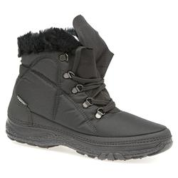 HSEF1400 Textile Boots in Black