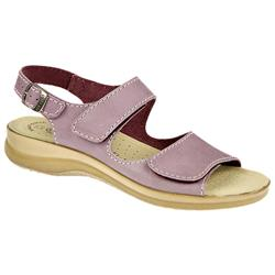 Danielle Leather Sandals in Lilac