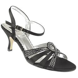 PCSLIP1000 Textile Upper Sandals in Black, Dark Grey