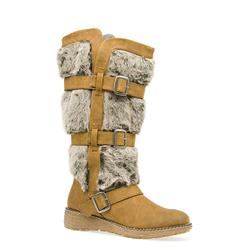AF1403 Textile/Other Upper Textile/Other Lining Boots in Chestnut