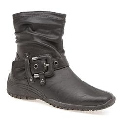 25401 Textile Lining Boots in Brown