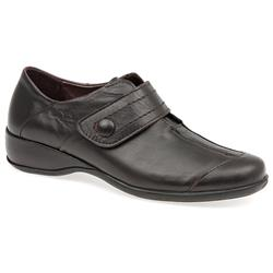 HSAC1413 Leather Casual Shoes in Burgundy