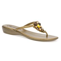 FAD1503 Sandals in Bronze, Pewter