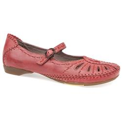TV1500 Leather Flats in Burgundy, Navy, Taupe