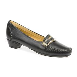HSNAP1500 Leather Day Shoes in Black