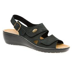 HSFLY1501 Leather Sandals in Beige, Black, Navy, Red