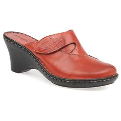 HSJEAN1500 Leather Clogs in Black, Blue, Camel, Red