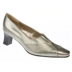 Roxy Leather Upper Leather/Textile Lining Comfort Small Sizes in Pewter Leather Patent