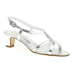 ZOD1504 Leather/Other Lining Sandals in Black, Metallic