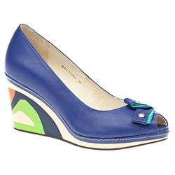 BEL15006 Leather Comfort Small Sizes in Blue, White
