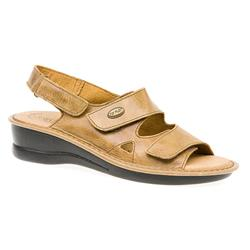 FLY1516 Leather Sandals in Brown