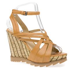 STBR1515 Leather Sandals in Toast