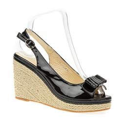 STHAR1500 Leather/Other Lining Sandals in Black, Natural, Red