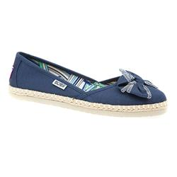 HSSKE1551 Textile Upper Leather Lining Ethically Friendly in Navy, Red