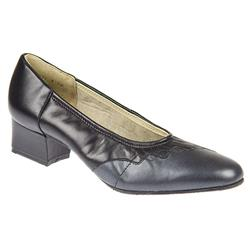 Rhapsody - EE Fit Leather Upper Court Shoes in Black, Brown