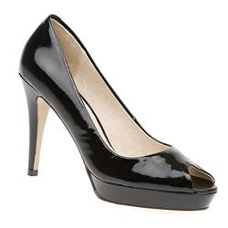 STBR1517 Leather in Black Patent