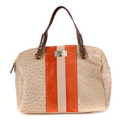 BELBAG1510 Leather Upper in Beige Orange