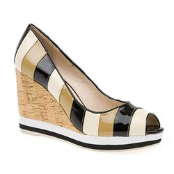 BEL15025 Leather in Beige Multi