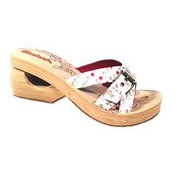 Female Spinners - Tennis Club II Textile Upper Textile/Other Lining All Sandals in Natural