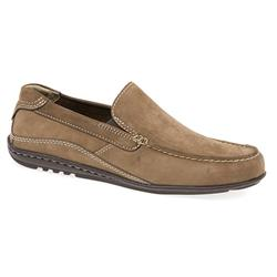 ROCK1601 Leather Upper Leather/Textile Lining Casual Shoes in Beige