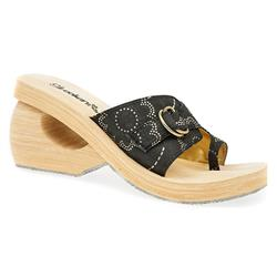 SKE1315 Textile Sandals in Black