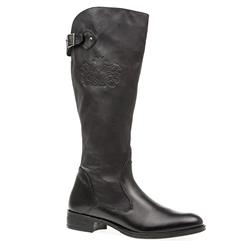 TRIV1602 Leather/Textile Boots in Black, Brown