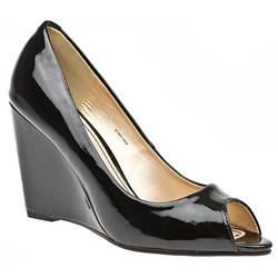 STBR1504 Leather Lining in Black Patent, Praline Patent