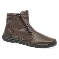 VITAL1400 Leather Upper Textile Lining Boots in Black, Brown