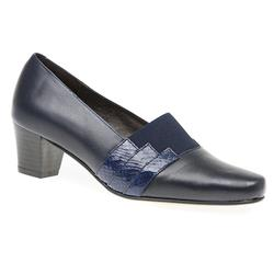 HSANC1602 Leather Day Shoes in Black, Navy