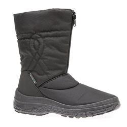 HSEF1600 Textile Boots in Black, Mink