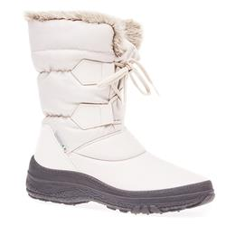 HSEF1601 Textile Boots in Beige, Black, Burgundy