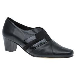 ANC1606 Leather Low to Mid Heels in Black