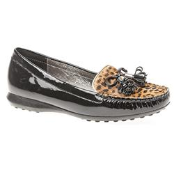 STEAST1600FP Leather Upper in Black-Leopard, Black-Zebra