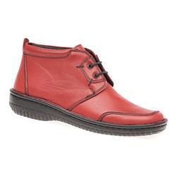 HAK1609 Leather Boots in Burgundy, Dark Navy, Grey