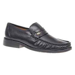 YORK1607 Leather Upper Leather/Textile Lining in Black