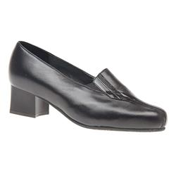 EQ16GINGER Leather Upper Comfort Small Sizes in Black