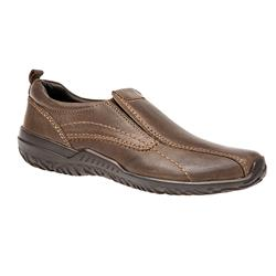 PE1600 Leather Casual Shoes in Brown