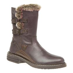 TRIV1605 Leather Upper Textile Lining Boots in Brown